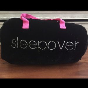 BSG Black Velvet Sleepover Bag